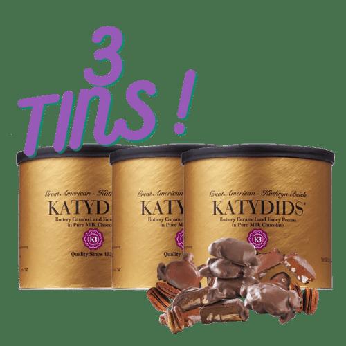 Katydids Candy 3 tins