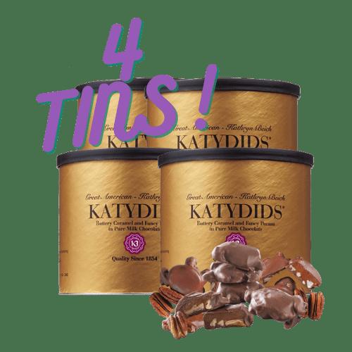 Katydids Candy 4 tins