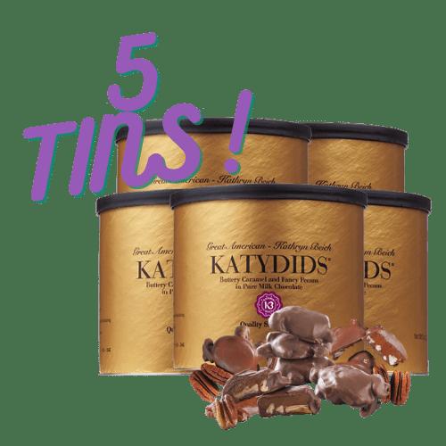 Katydids Candy 5 tins