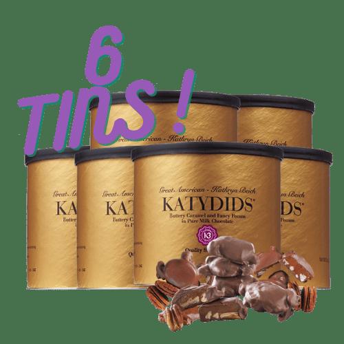 Katydids Candy 6 tins