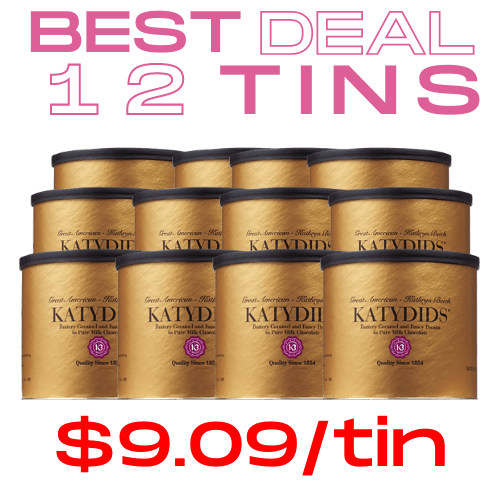 Katydids Candy Cases >> BEST DEAL $9.09/tin