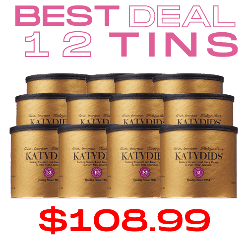 Katydids Candy Cases >> BEST DEAL $108.99/12 tins